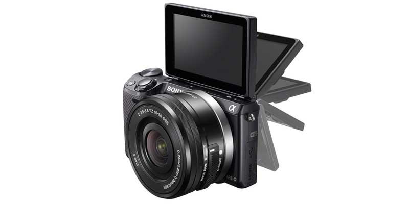 Hybrid-mirrorless-camera